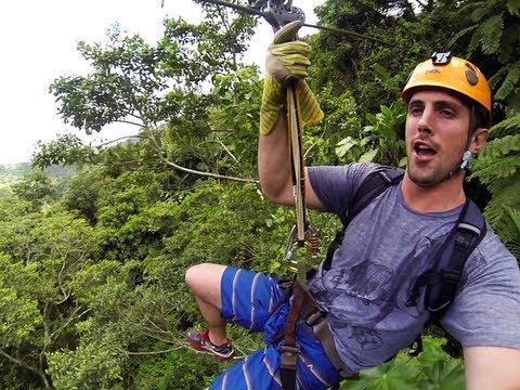 Hiking and Ziplining at Toro Negro Rainforest in Puerto Rico