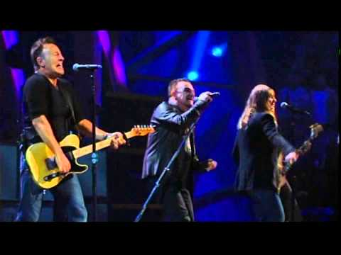 U2 with Bruce Springsteen and Patti Smith - Because the Night