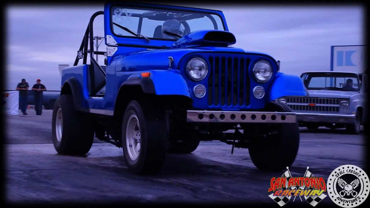 San Antonio Jeep >> CJ7 Drag Racing JEEP at San Antonio Raceways Truck ...