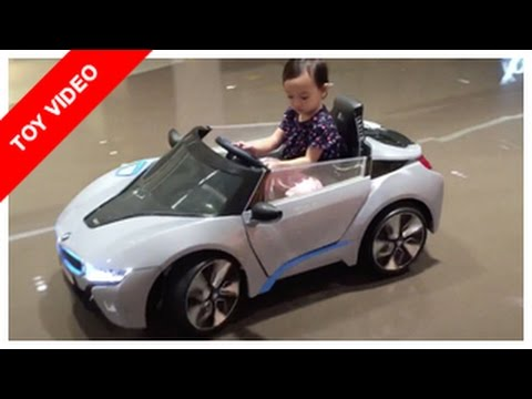 Summer Testing The Bmw I8 Remote Control Ride On Kids Car Toy