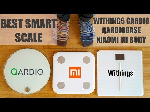 Best Smart Scale - Withings Cardio, QardioBase, Xiaomi Mi Body Scale