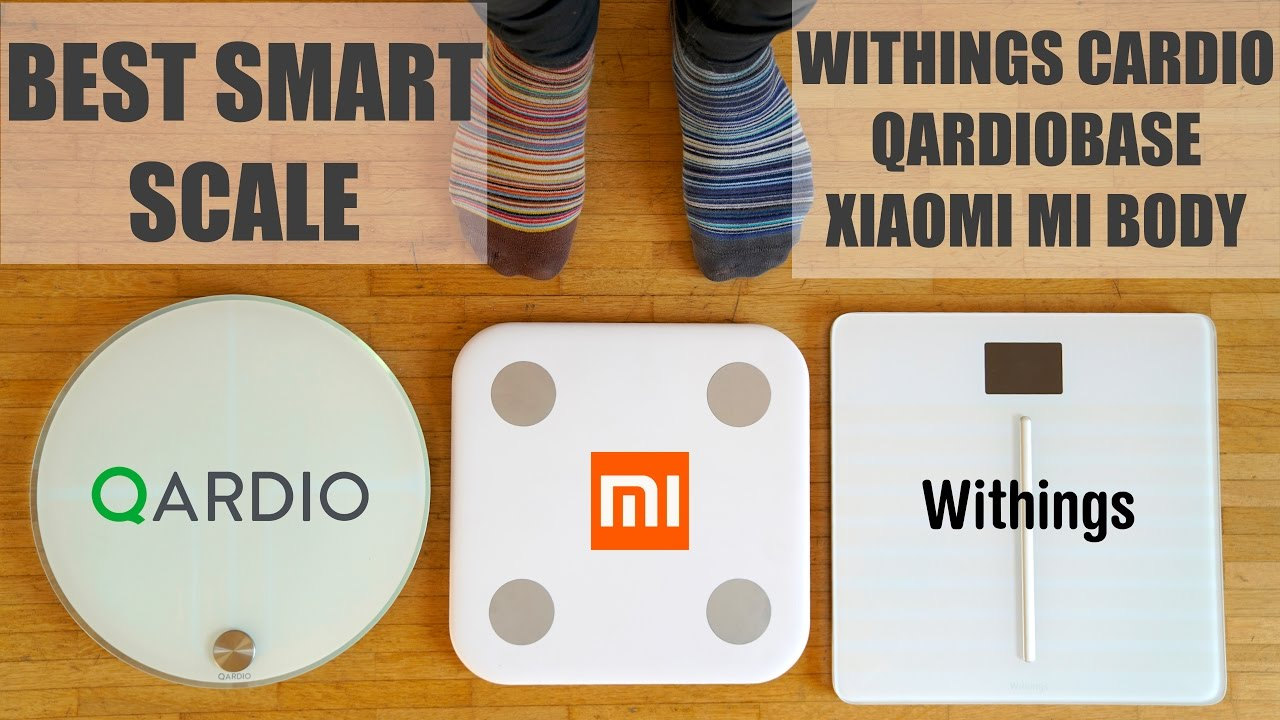 Withings Body Cardio Scale >> Best Smart Scale - Withings Cardio, QardioBase, Xiaomi Mi ...