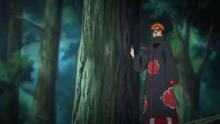 Utakata vs Pain Full Fight