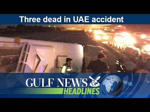 Three dead in UAE accident - GN Headlines