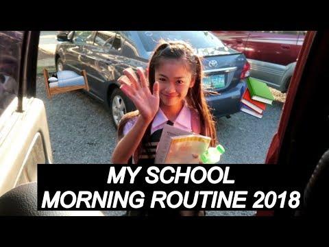My School Morning Routine 2018 | Sophia Zionne