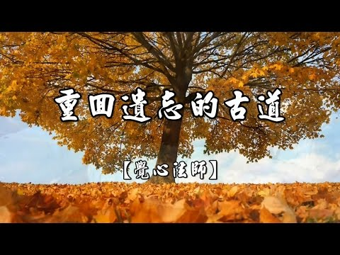 原始佛教特質-重回遺忘的古道【覺心法師】