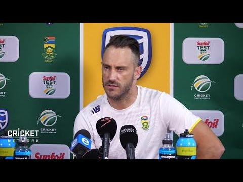 It needs to stay on the field: Faf