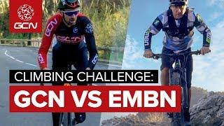 Road Bike Vs E Bike - Col De La Madone Climbing Challenge