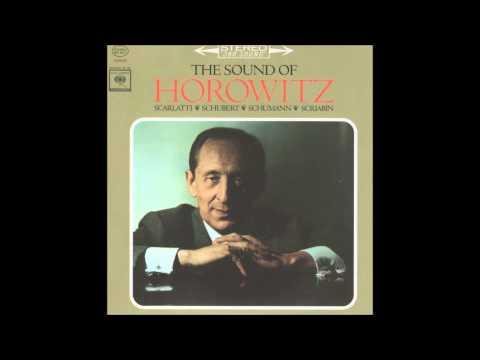 V. Horowitz - Sonata K. 322 (D. Scarlatti) [1962]