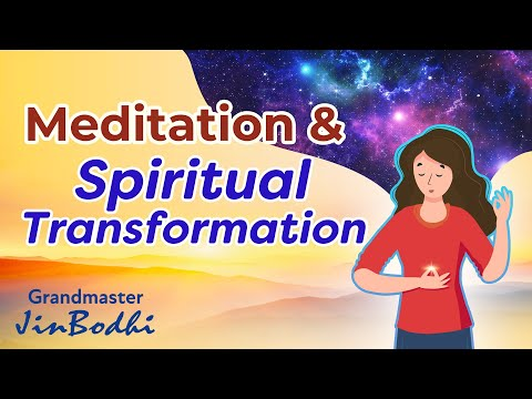 Meditation And Its Spiritual Transformation【Meditation Master JinBodhi Short Dharma Teaching Videos】