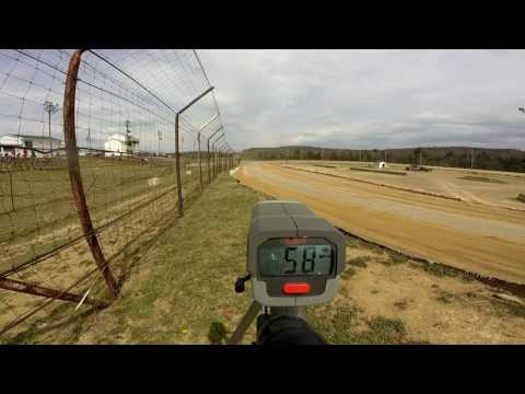 Dog Hollow Speedway - 4/15/17 Midgets/Go karts Practice Session #1