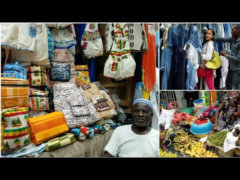 SHOPPING IN ABIDJAN IVORY COAST, GRANDE MARCHÉ DE TREICHVILLE |Things to do in Abidjan