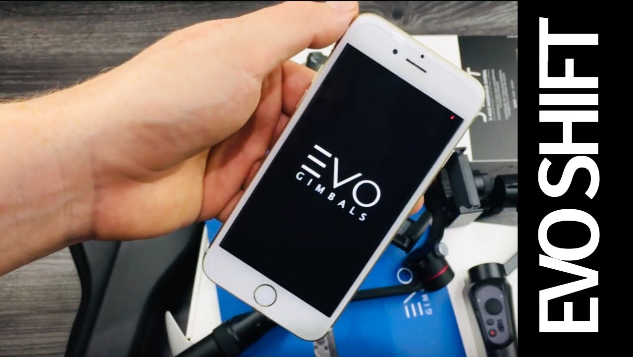 How to Download the EVO Gimbals Remote APP & Sync EVO SHIFT with iPhone