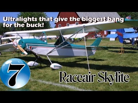 RaceAir Skylite - 12 Ultralight Aircraft that give the biggest bang for the buck!