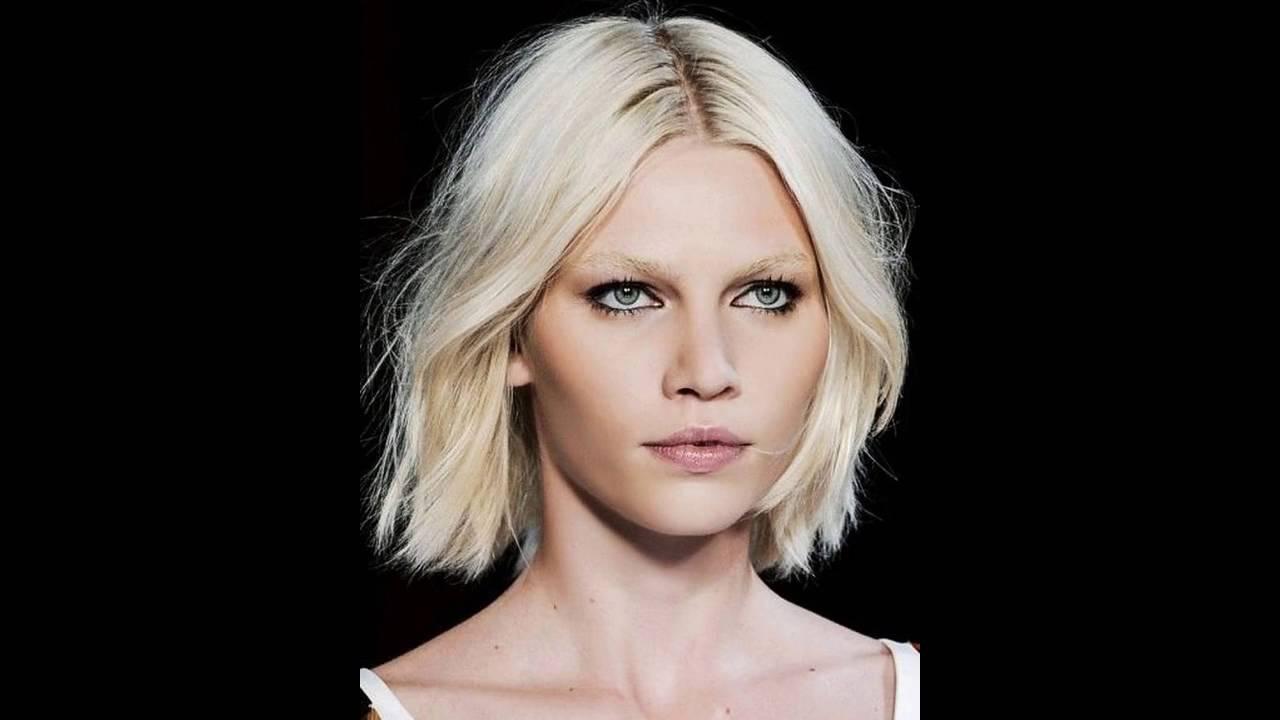 Coiffure pour visage rond youtube - Modele de coupe courte pour visage rond ...
