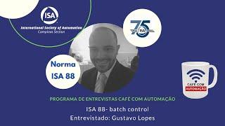 ISA 88 - batch control - Gustavo Lopes
