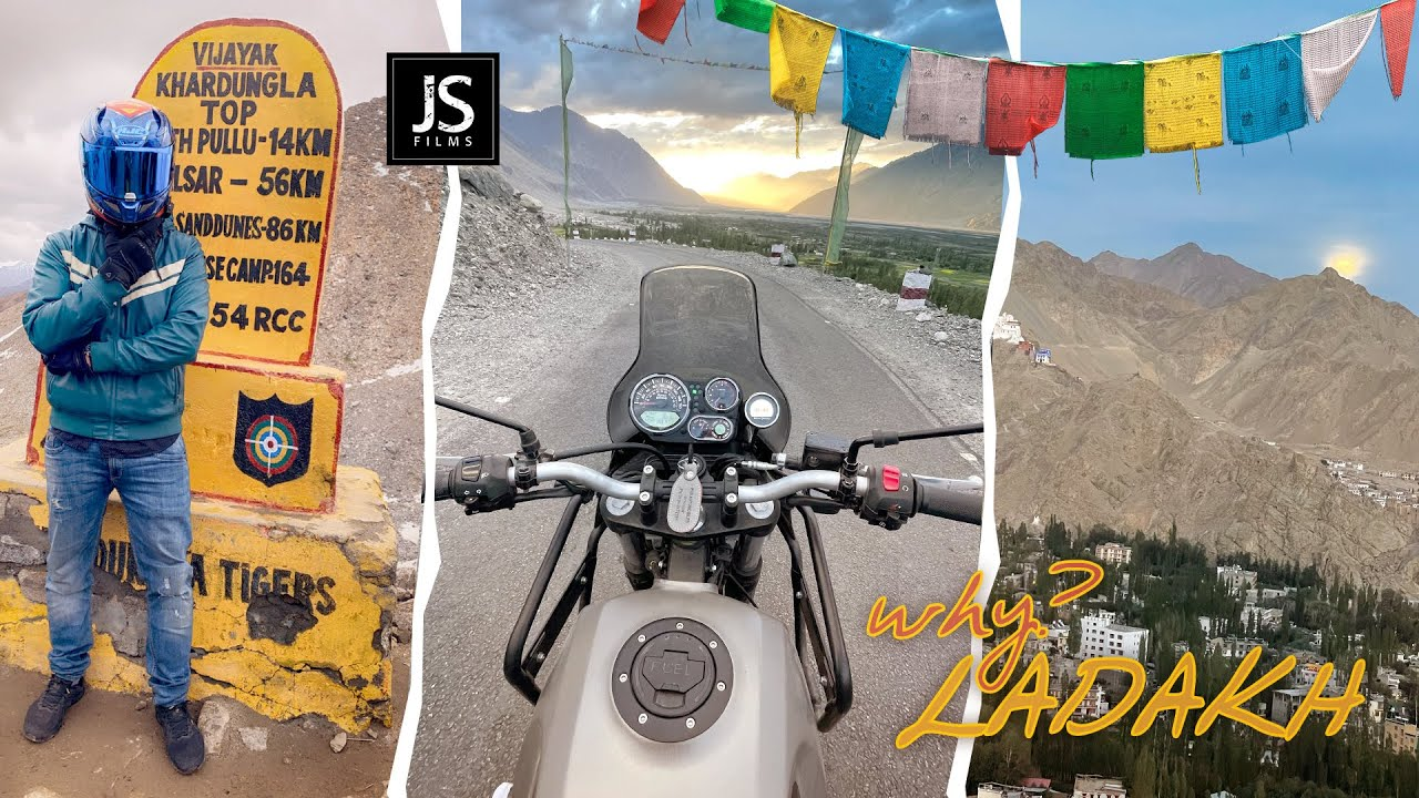 why LADAKH ? don't go by Flight before watching this!!