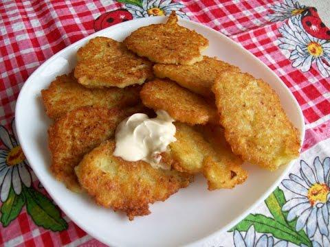Рецепт драников из картошки драники с грибами, с мясом, с