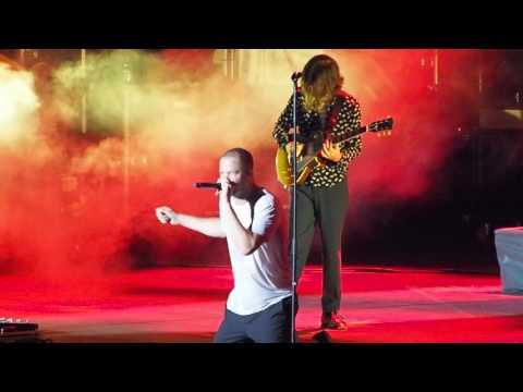 "Imagine Dragons - Wayne Sermon's guitar solo & ""I'm so sorry"" live @ Arena Verona - 10 Luglio 2017"