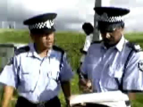 Arrogant Policemen in Mauritius