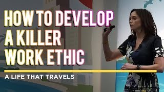Amy Landino: How to Develop a Killer Work Ethic