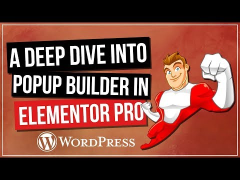 Elementor Pro Pop-Up Builder - Some Cool Use Cases - 동영상