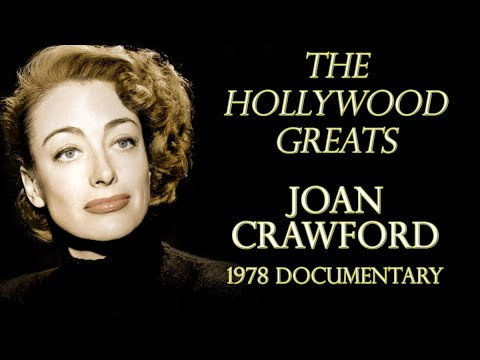 "Joan Crawford: ""The Hollywood Greats"" Documentary 1978"