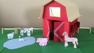 3D Paper Barn Project