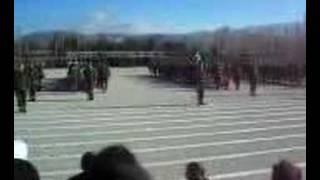 40,Piyade Eğitim Alayı Yemin Töreni 87/4 Isparta-2007