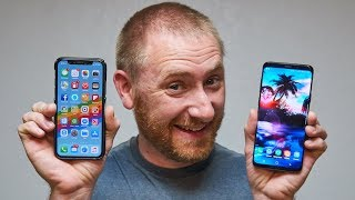 Samsung Galaxy S9 Plus from an iPhone X Users Perspective
