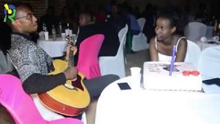 Andy Bumuntu yatunguye bikomeye umwe mu bakobwa bahataniraga ikamba rya Miss Rwanda 2018