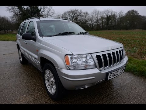 2003 JEEP GRAND CHEROKEE LIMITED 4.0 ENGINE 4x4 VIDEO REVIEW