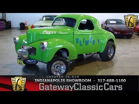 1941 Willy's Gasser Gateway Classic Cars Indianapolis-1165