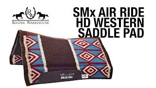 SMx Air Ride HD Western Saddle Pads