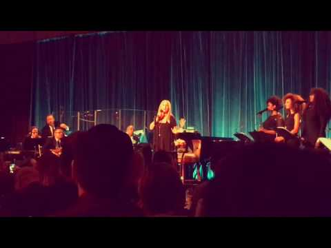 Barbra Streisand at the Victory Fund Gala
