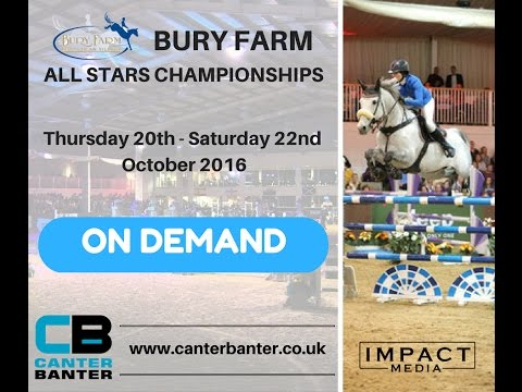 BURY FARM ALL STARS | THURS | DDS DEMOLITION 1.25M WINTER CHAMP Q