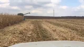 Уборка кукурузы 2016 часть 2