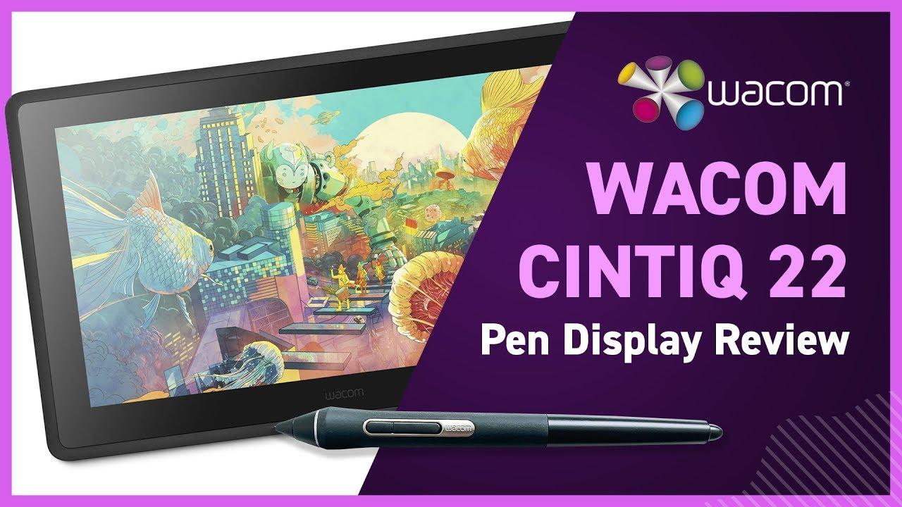 Wacom Cintiq 22 Review - Yes I'm a Designer