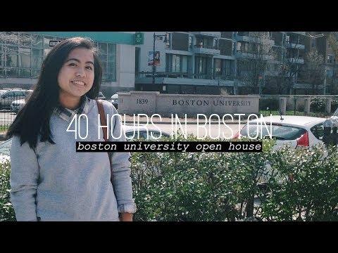 40 Hours in Boston | Boston University Open House