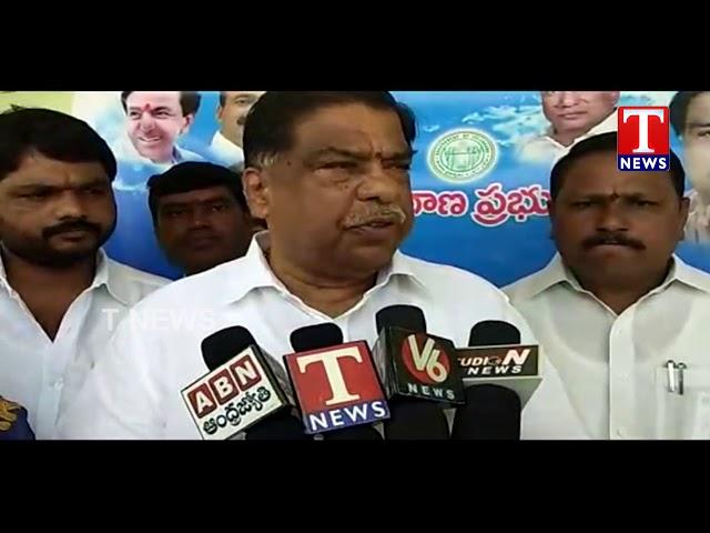MLA Malipedhi Sudheer Reddy Launches Crop Purchase Center | Medchal Dist | T News live Telugu