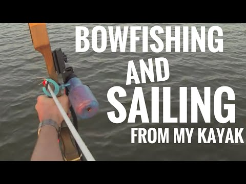 Bowfishing & Sailing From Hobie Pro Angler 14 Kayak