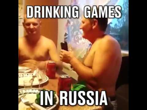 Russian drinking games