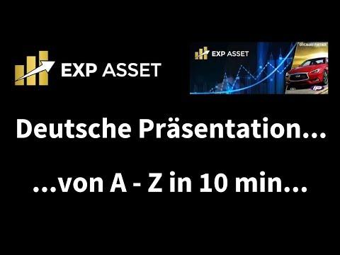 EXP Asset, Deutsche Präsentation, A-Z in 10 min., seriös