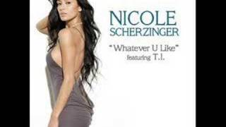 Nicole Scherzinger - Whatever you like (karaoke version)
