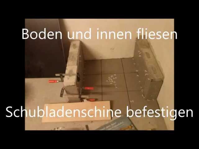Waschmaschinensockel Waschmaschinenpodest mit Schublade