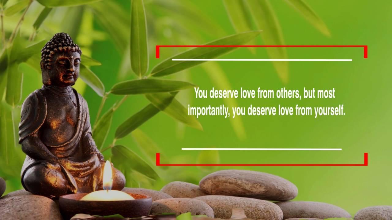 Gautam Buddha S Life Changing Quotes Youtube