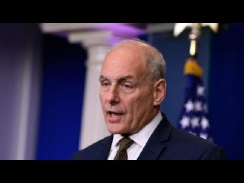 John Kelly scuffled with Chinese security officials over nuclear football