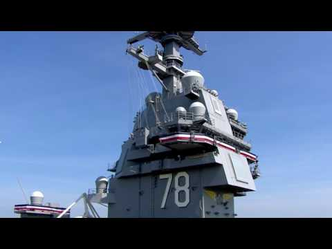 FULL EVENT Commission Ceremony Of USS Gerald R. Ford At Naval Station Norfolk (HD).