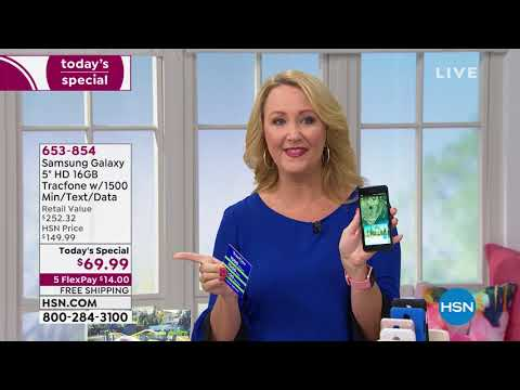 HSN | Electronic Connection Celebration featuring Samsung Tracfone 07.26.2019 – 12 AM
