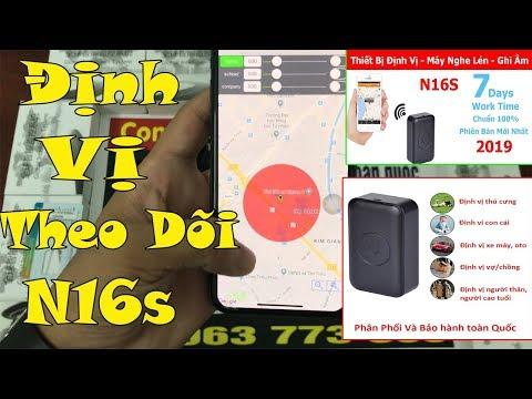 Thiết Bị Định Vị GPS N16s - Theo Dõi Vợ Chồng, Giám Sát Con Cái Dễ Dàng - Vị Trí Chuẩn Xác